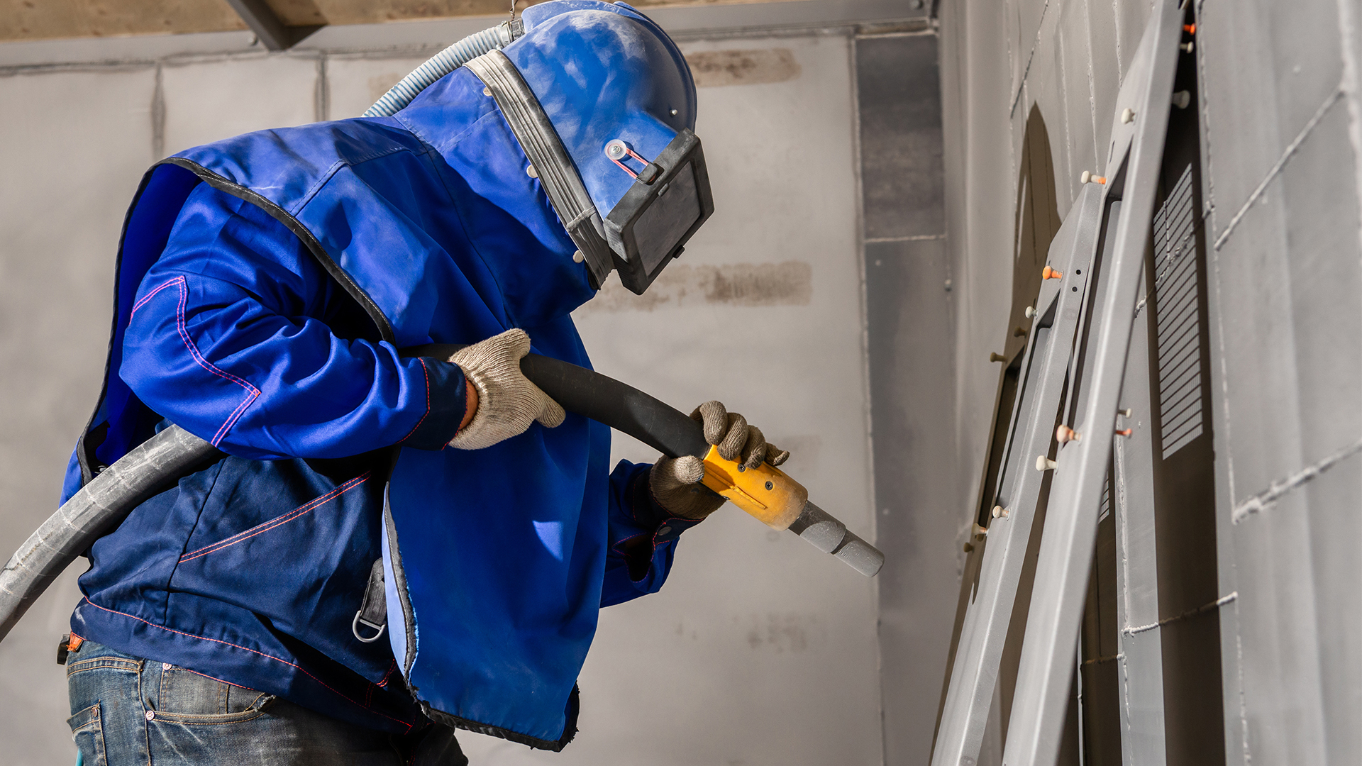 Vapour Blasting & Dustless Blasting Services In Ireland